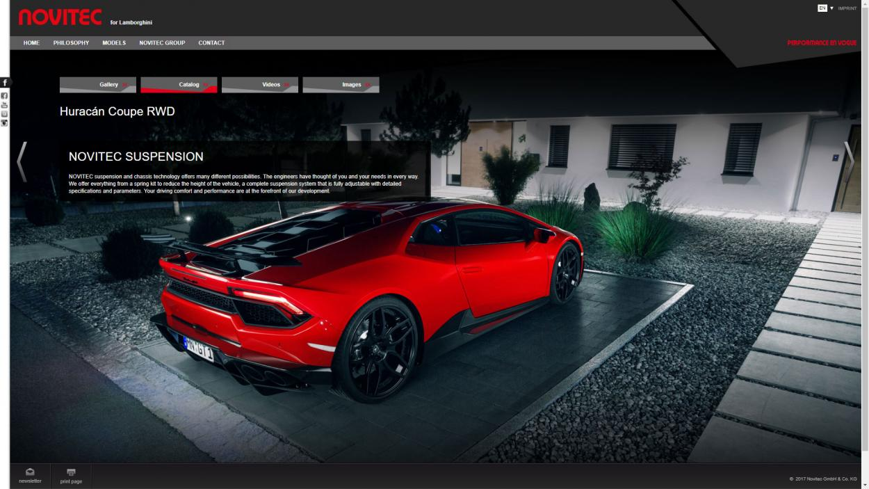 novitec-corporate-website